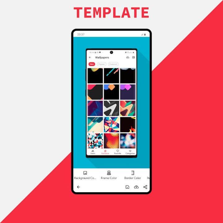 دانلود برنامه Creative App – Wallpapers Ringtones and more Pro 2.2 اندروید