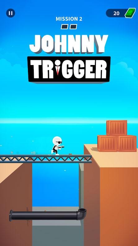 دانلود Johnny Trigger 1.11.4 بازی جانی تریگر اندروید + مود