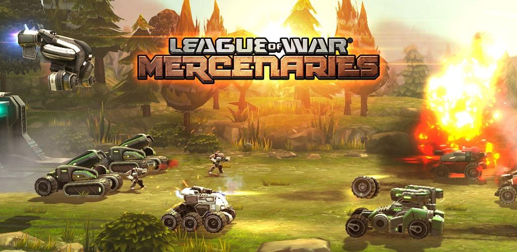 دانلود League of War: Mercenaries 9.11.5 بازی اتحاد جنگ مزدوران اندروید + مود