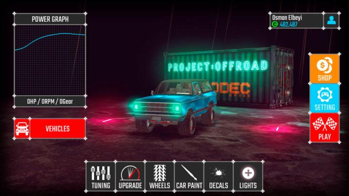 دانلود PROJECT:OFFROAD 20 15 بازی پروژه آفرود اندروید + مود
