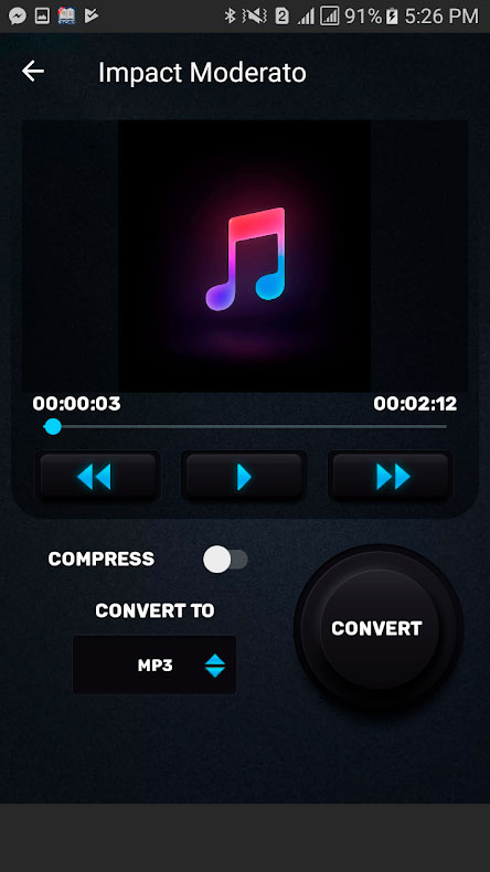 دانلود Video Converter, Compressor MP4,3GP,MKV,MOV,AVI Pro 0.2.6 اندروید