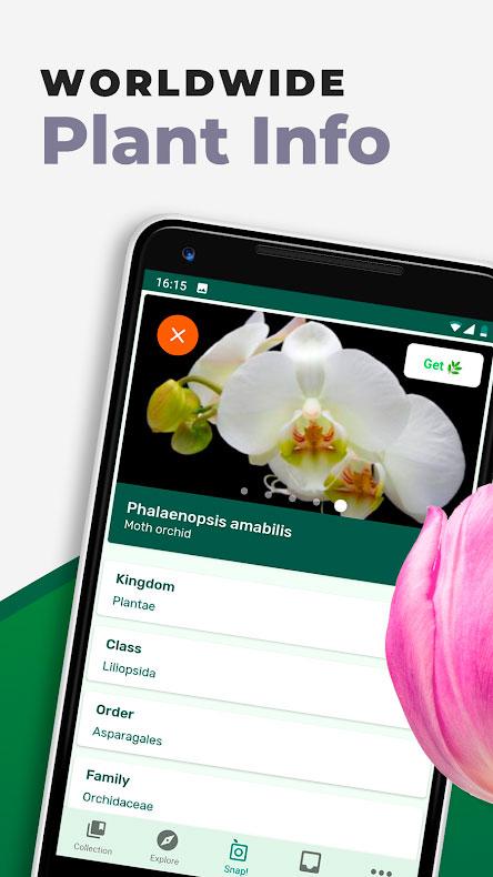 دانلود PlantSnap Pro 3.00.20 برنامه شناسایی گیاهان، گل ها و درختان