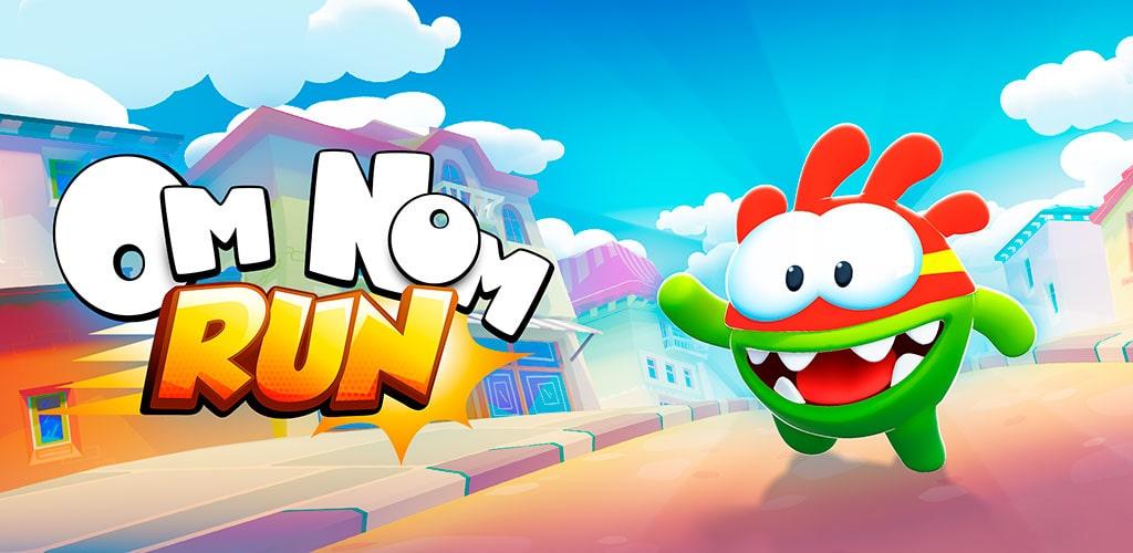 دانلود Om Nom: Run 1.4.3 بازی اوم نوم دونده برای اندروید + مود