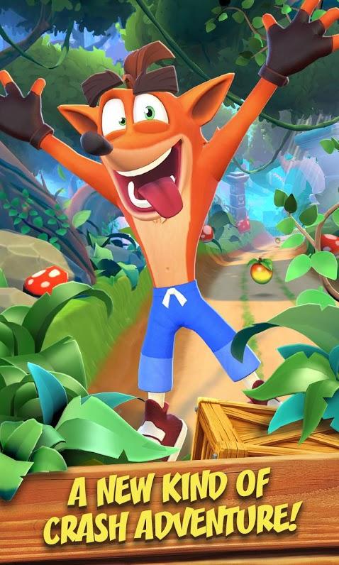 دانلود Crash Bandicoot: On the Run 1.70.70 – بازی کراش باندیکوت اندروید + مود