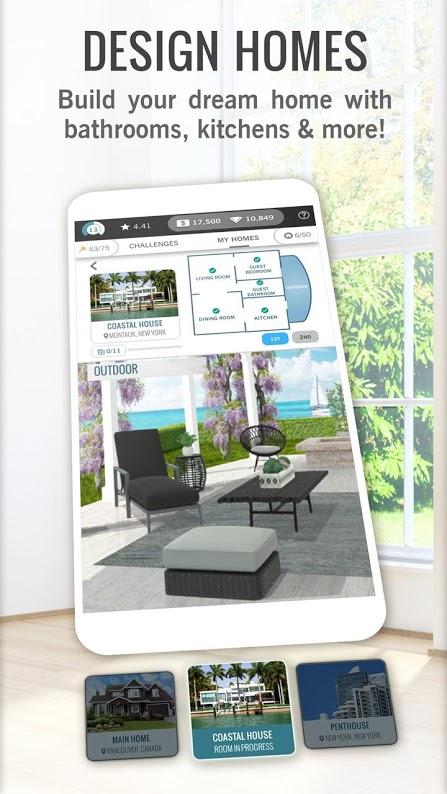 دانلود Design Home: House Renovation 1.70.026 بازی طراحی خانه اندروید