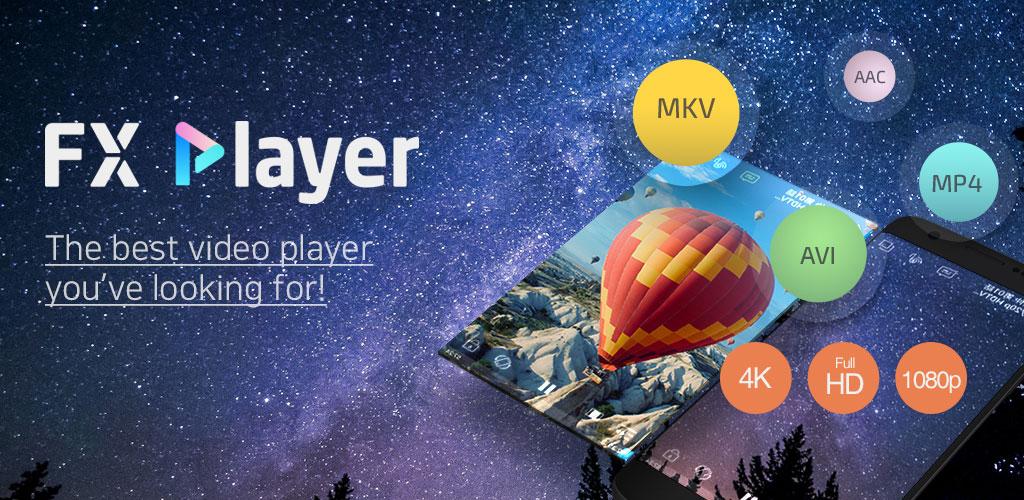 دانلود FX Player Pro 2.0.7 برنامه ویدیو پلیر و پخش فیلم اندروید