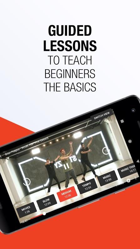 دانلود STEEZY Studio – Learn To Dance Full 1.26.0 برنامه آموزش رقص اندروید