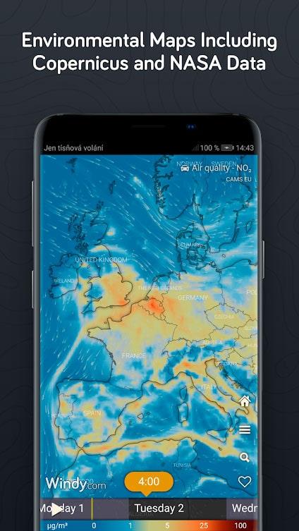دانلود Windy.com Pro 27.3.1 برنامه هواشناسی دقیق اندروید
