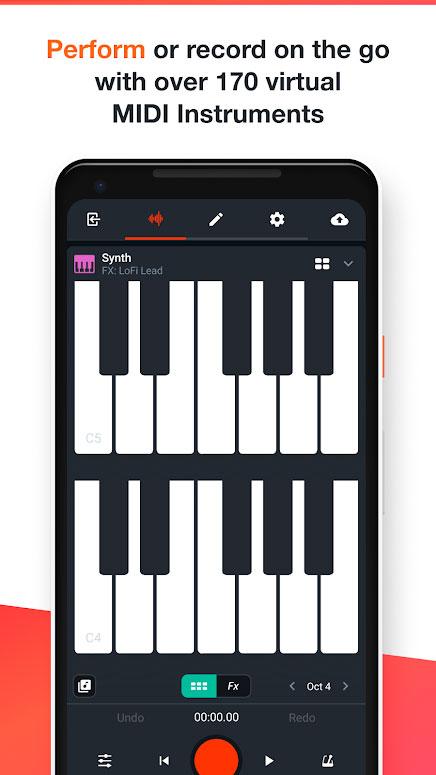 دانلود BandLab – Music Recording Studio & Social Network 9.21.1 برنامه استودیوی آهنگسازی اندروید