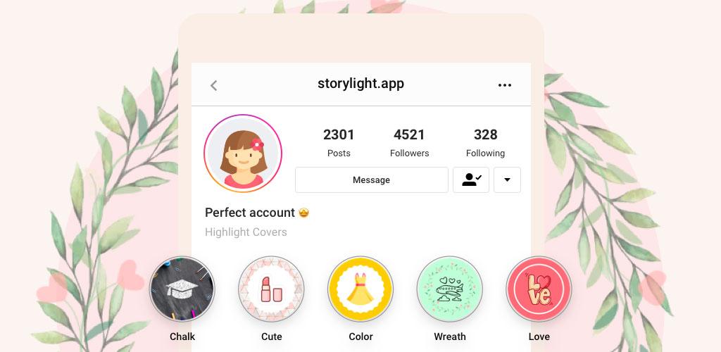 دانلود StoryLight Pro 5.9.5 برنامه ساخت کاور هایلایت اینستاگرام