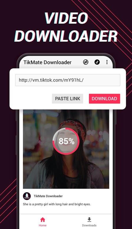 دانلود Video Downloader for TikTok – No Watermark 1.0.66 برنامه دانلود ویدیو از تیک تاک