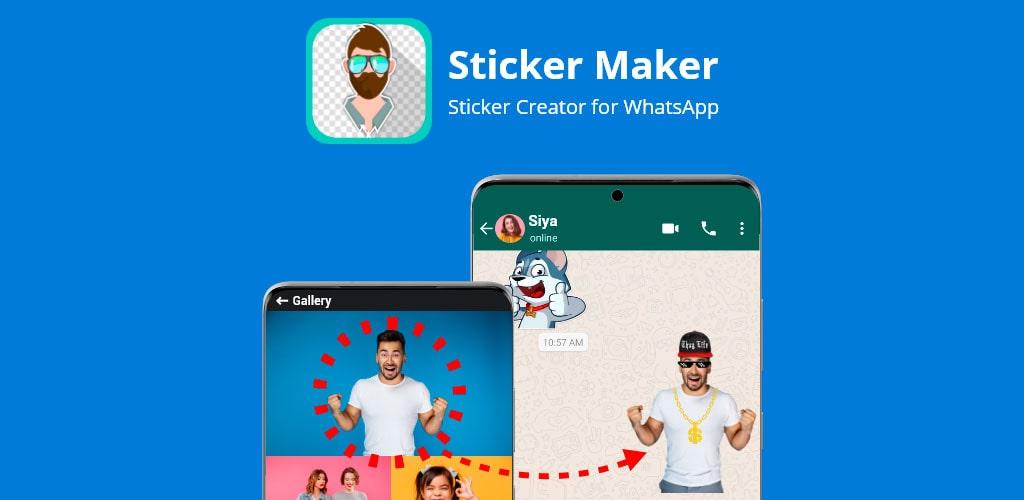 دانلود Sticker Maker Pro 4.8.26 برنامه استیکر ساز اندروید