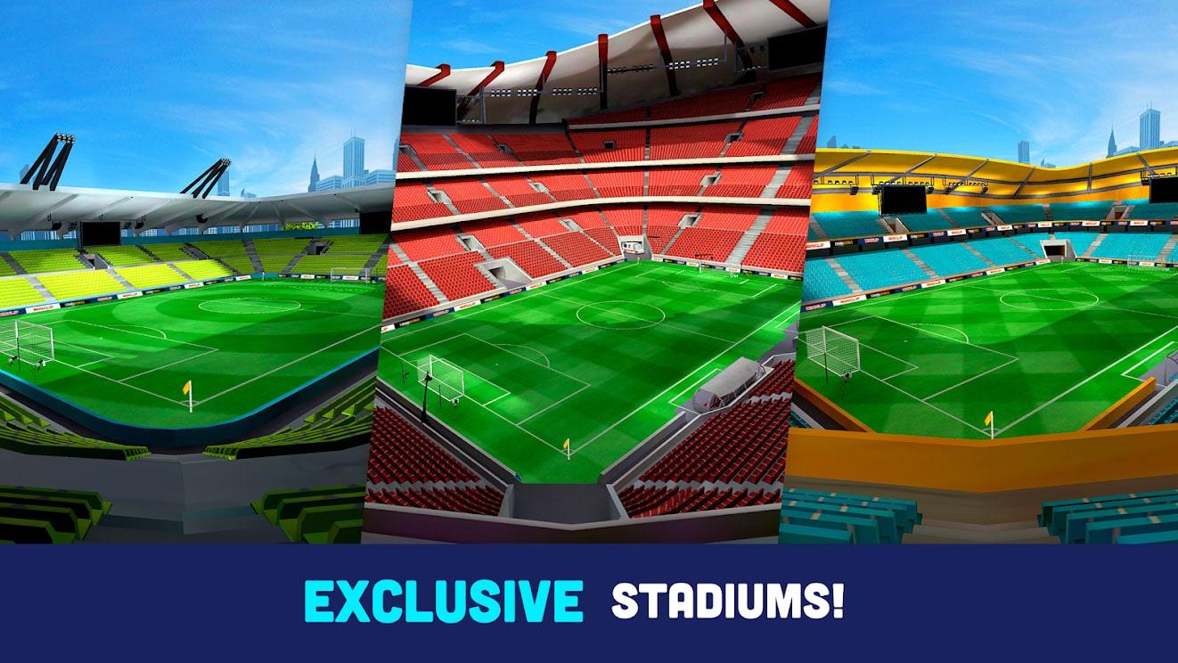 دانلود Mini Football – Mobile Soccer 1.2.0 بازی مینی فوتبال اندروید