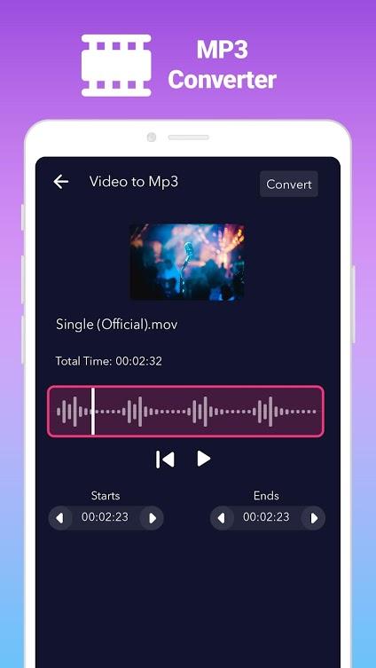 دانلود AudioApp Pro 2.3.7 برنامه ویرایش فایل صوتی اندروید