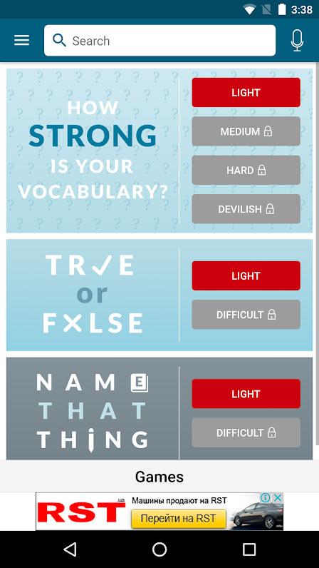 دانلود Dictionary – Merriam-Webster 5.1.1 Full – دیکشنری مریام وبستر اندروید