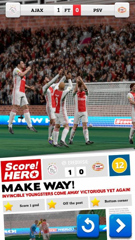 دانلود Score Hero 2 1.10 – بازی فوتبال اسکور هیرو اندروید + مود