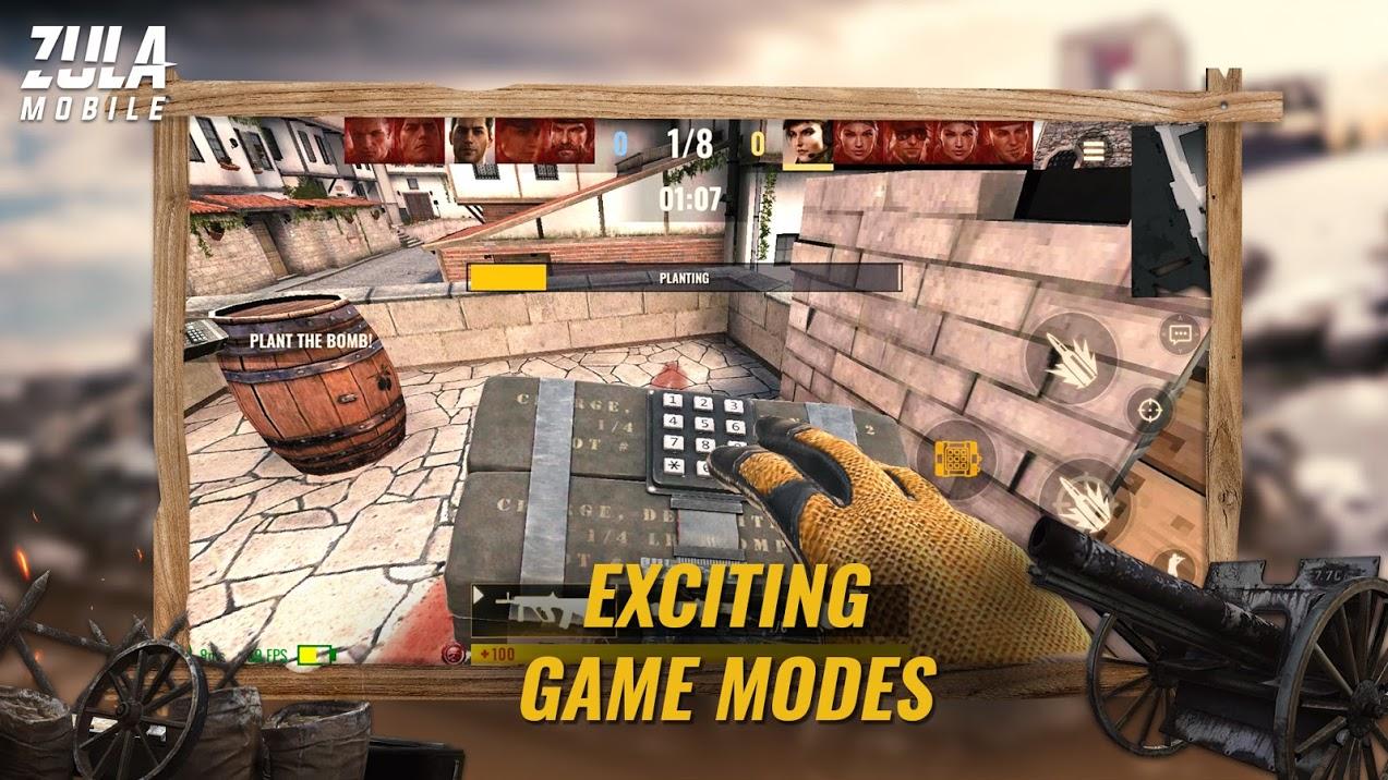 دانلود Zula Mobile 0.21.0 بازی زولا موبایل اندروید + مود