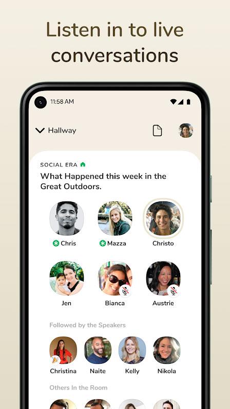 دانلود Clubhouse: Drop-in audio chat 0.1 برنامه کلاب هاوس اندروید