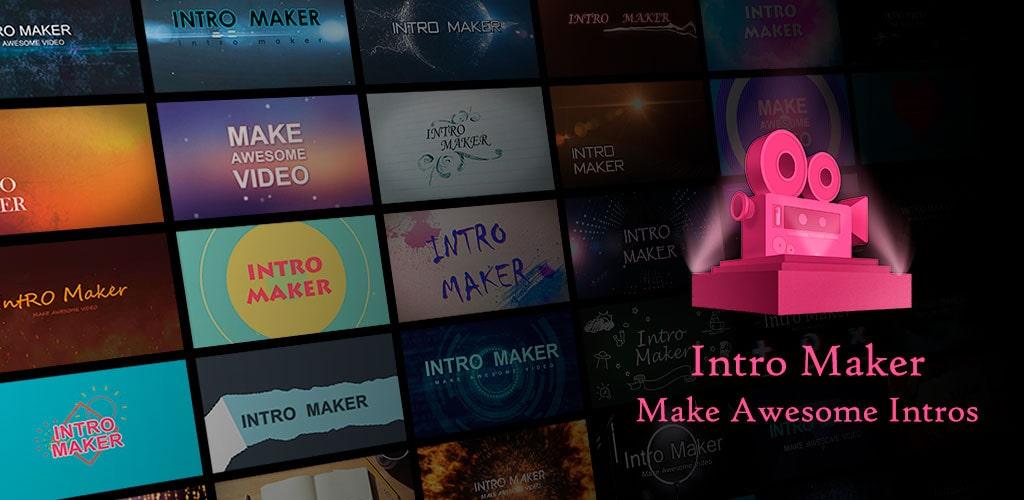 دانلود برنامه Intro Maker – music intro video editor VIP 4.5.3 – ساخت اینترو اندروید