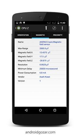 CPU X: System & Hardware info PRO 2.7.4 اطلاعات سیستم و سخت افزار