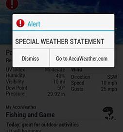 دانلود AccuWeather Platinum 7.14.0-3 – برنامه پیش بینی آب و هوا اندروید