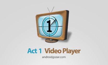Act 1 Video Player 3.15.2 دانلود نرم افزار پخش کننده فیلم