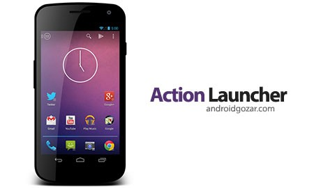 Action Launcher 2: Pro 2.2.1 دانلود لانچر زیبا