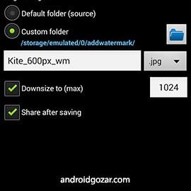 Add Watermark 3.0 دانلود برنامه قرار دادن متن و تصویر روی عکس اندروید