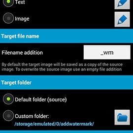 دانلود Add Watermark 3.0 – برنامه قرار دادن متن و تصویر روی عکس اندروید