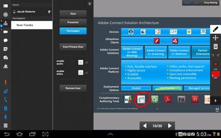 دانلود Adobe Connect 2.6.9 برنامه کنفرانس و ملاقات اندروید