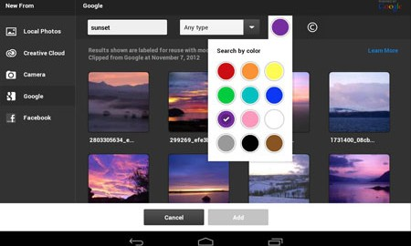 Adobe Photoshop Touch 1.7.7 دانلود نرم افزار فتوشاپ لمسی اندروید