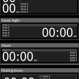 Advanced Clock Widget Pro 0.762 دانلود ویجت ساعت پیشرفته