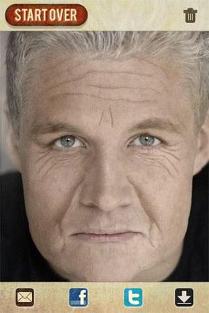 AgingBooth 2.6 دانلود نرم افزار پیر کردن چهره برای اندروید