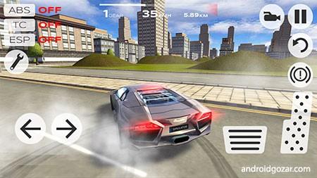 دانلود Extreme Car Driving Simulator 5.2.7 بازی شبیه ساز رانندگی اندروید + مود