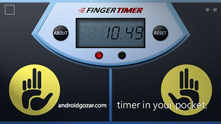 Finger Timer Full 1.0.4 دانلود نرم افزار تایمر انگشت