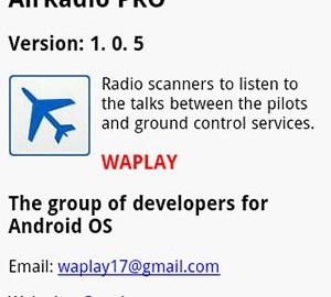 AirRadio PRO 3.1.0 شنیدن گفتگوی خلبان ها با برج مراقبت