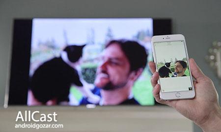 دانلود AllCast Premium 3.0.1.4 ارسال عکس، آهنگ و ویدیو اندروید به تلویزیون