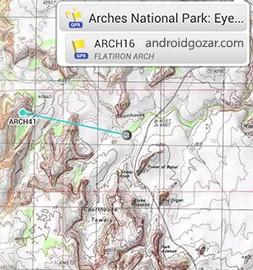 دانلود AlpineQuest GPS Hiking 2.2.3 برنامه ردیابی مسیر خارج از جاده اندروید