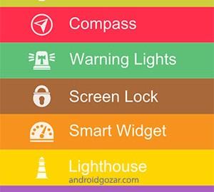 دانلود Amazing Flashlight Pro 2.83 برنامه چراغ قوه اندروید