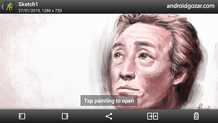 ArtRage: Sketch, Draw, Paint 1.3.11 دانلود نرم افزار نقاشی طبیعی اندروید