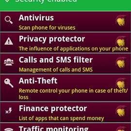 AndroHelm AntiVirus Security 2017 2.5.6 دانلود آنتی ویروس اندروهلم اندروید