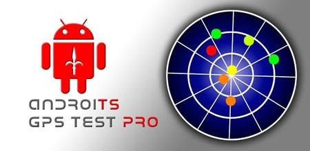 AndroiTS GPS Test Pro 1.46 Download the test software and view GPS position