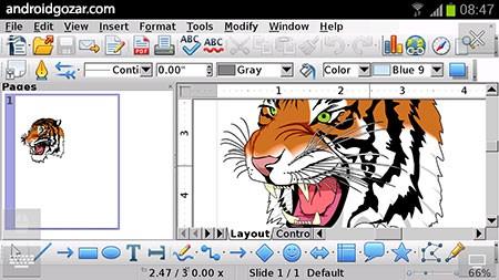 AndrOpen Office Pro 4.3.9 دانلود برنامه آفیس اندروید + پلاگین ها