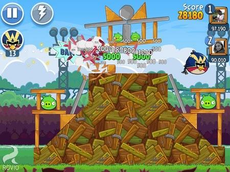 دانلود Angry Birds Friends 8.4.0 بازی پرندگان خشمگین دوستان اندروید