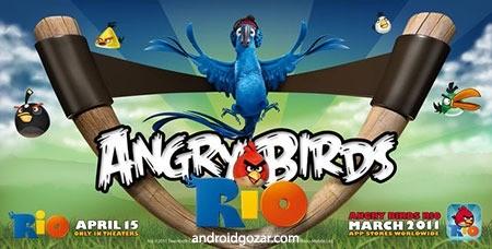 Angry Birds Rio 2.6.6 دانلود بازی پرندگان عصبانی ریو اندروید + مود