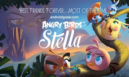 Angry Birds Slingshot Stella 1.1.5 دانلود بازی پرندگان خشمگین استلا + مود