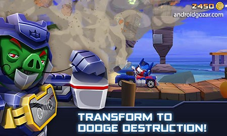 دانلود Angry Birds Transformers 1.51.1 بازی انگری بردز ترانسفورمرز اندروید + مود