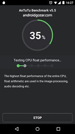 AnTuTu Benchmark 8.1.0 دانلود برنامه تست سخت افزار اندروید