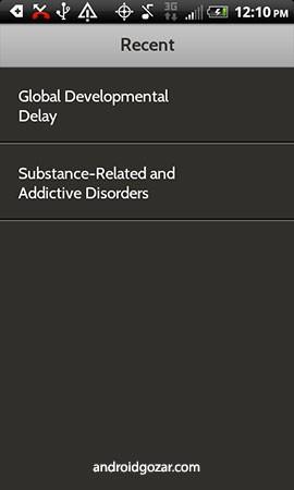 DSM-5 Diagnostic Criteria 1.3.0 دانلود نرم افزار معیارهای تشخیصی اختلال های روانی