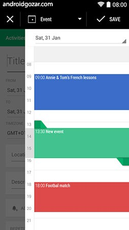 دانلود Business Calendar 2 Pro 2.37.7 برنامه تقویم کسب و کار اندروید